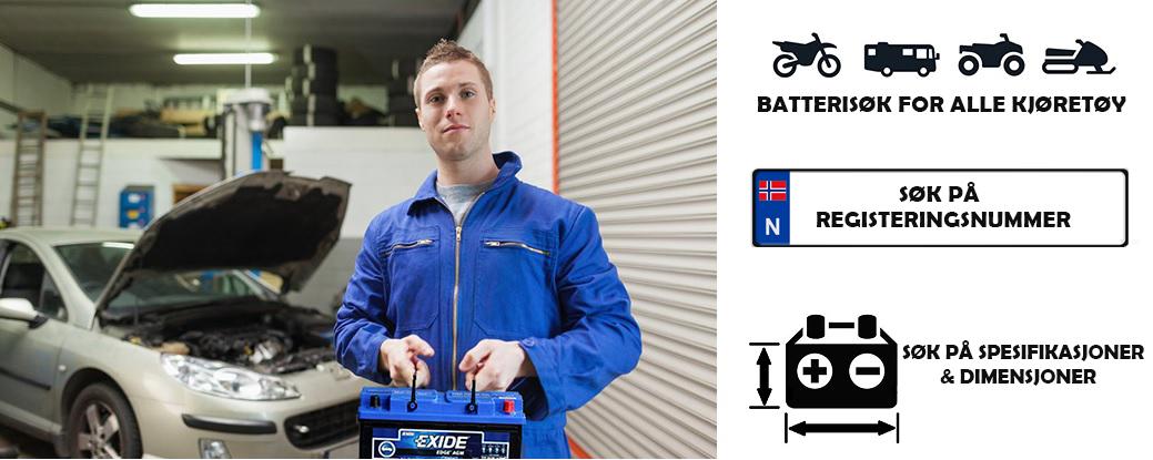 Billig  batteri  til  bil