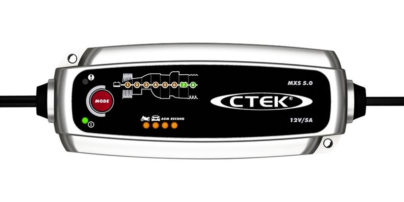 Batterilader | 8 trinnsprogram | C TEK MXS 5.0 | Jula